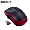 Logitech Wireless Optical Mouse M185 Red
