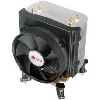 Akasa Universal Socket 92mm PWM 2500rpm Low Noise Fan CPU Cooler