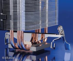 Akasa Universal Socket 92mm PWM 2500rpm Low Noise Fan CPU Cooler