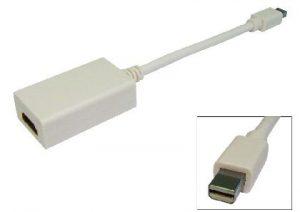 Generic Mini Display Port to HDMI Female Adaptor