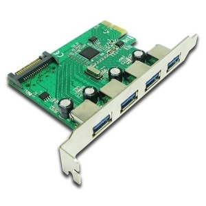 Generic USB 3.0 4 Port PCI Express Interface Card