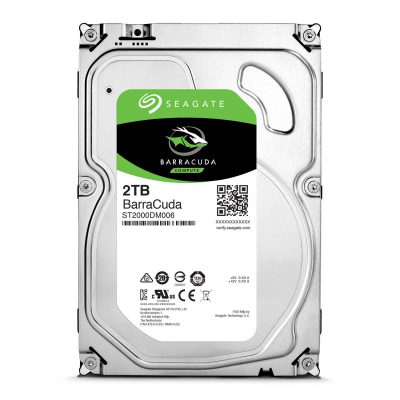 Seagate 2TB Internal SATA 6Gb/s 7200RPM 64MB Cache Hard Drive