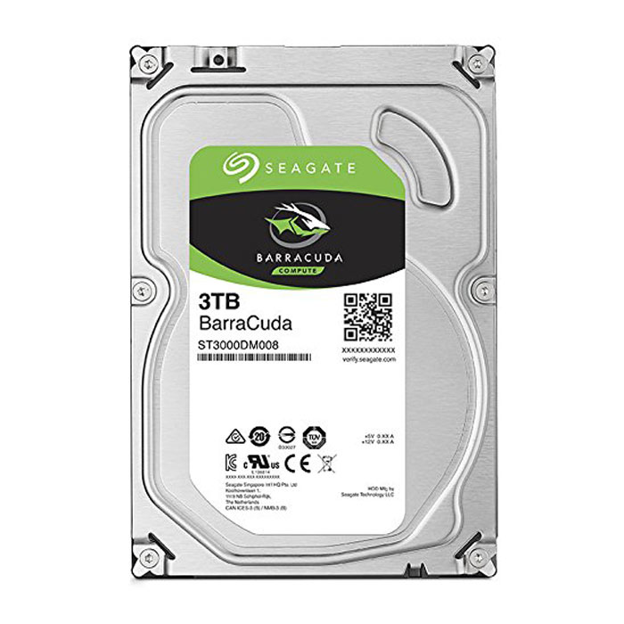 Seagate 3TB Internal SATA 6Gb/s 7200RPM 64MB Cache Hard Drive