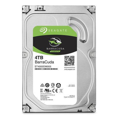 Seagate 4TB Internal SATA 6Gb/s 5900RPM 64MB Cache Hard Drive
