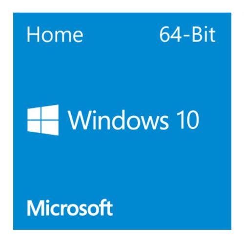 Microsoft Windows 10 Home 64 Bit DVD OEM
