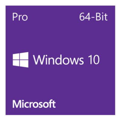 Microsoft Windows 10 Professional 64 Bit DVD OEM