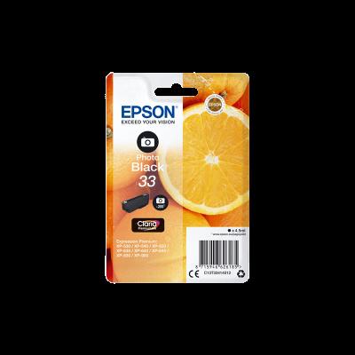 Epson Original 33 Photo Black Ink (Orange)