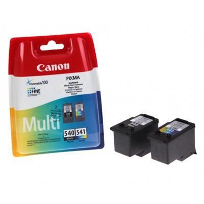 Canon Original PG-540 Black & CL-541 Colour Multipack