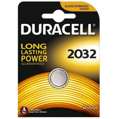 Duracell CR2032 Lithium Cell Battery