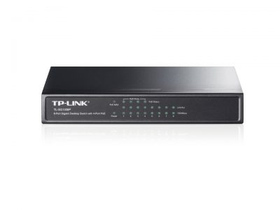 TP-Link 8 port Gigabit Switch Plastic Case 4 Port POE TL-SG1008P