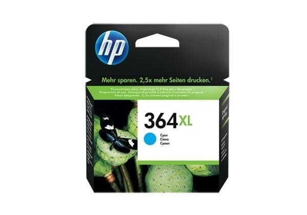 HP Original No 364XL Cyan HC Ink