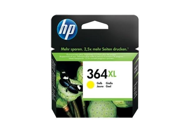 HP Original No 364XL Yellow HC Ink
