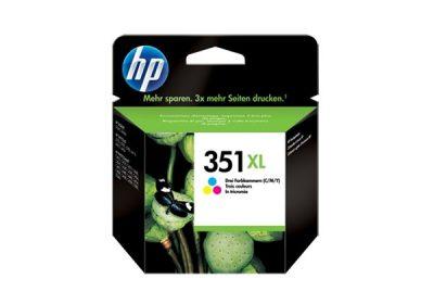 HP Original No 351XL Colour CMY Ink