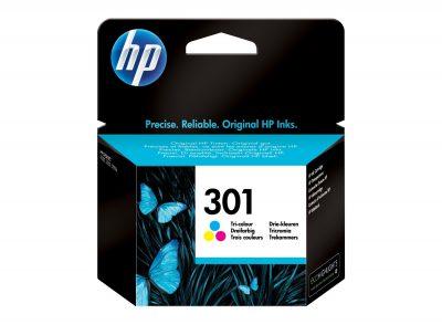 HP Original No 301 Colour CMY Ink