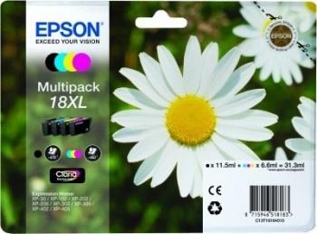 Epson Original 18XL Multipack CMYB Ink (Daisy)