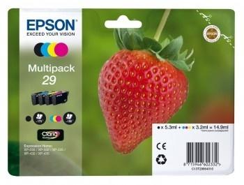 Epson Original 29 Multipack CMYB Ink (Strawberry)