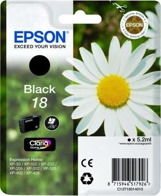 Epson Original 18 Black Ink (Daisy)