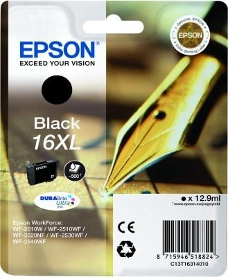Epson Original 16XL Black Ink (Ink)