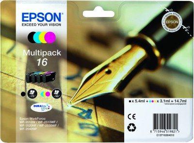 Epson Original 16 Multipack CMYB Ink (Ink)