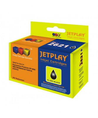 JetPlay Compatible T2621 Black Ink HC