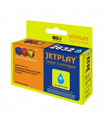 JetPlay Compatible T2632 Cyan Ink HC