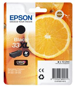 Epson Original 33XL Black Ink (Orange)