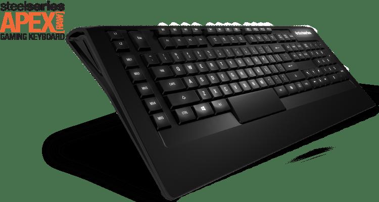Scanstation SteelSeries Apex 300 Backlit Gaming Keyboard