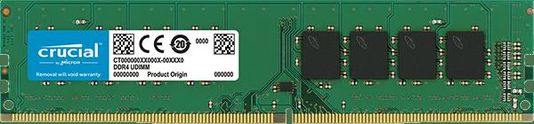 Crucial 4GB DDR4 2133MHz/PC4-17000 Memory Module