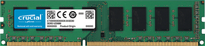 Crucial 4GB DDR3L 1600MHz/PC3-12800 Memory Module