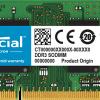 Crucial 4GB DDR3L 1600MHz/PC3-12800 SODIMM