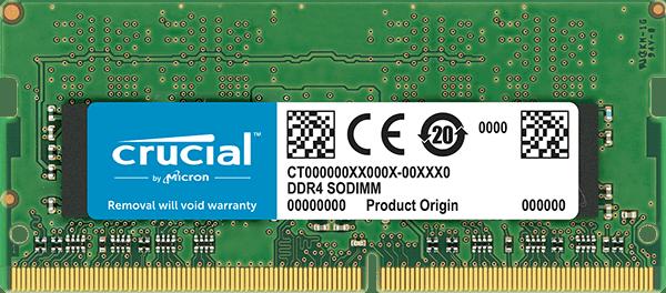 Crucial 8GB DDR4 2133MHz/PC4-17000 SODIMM