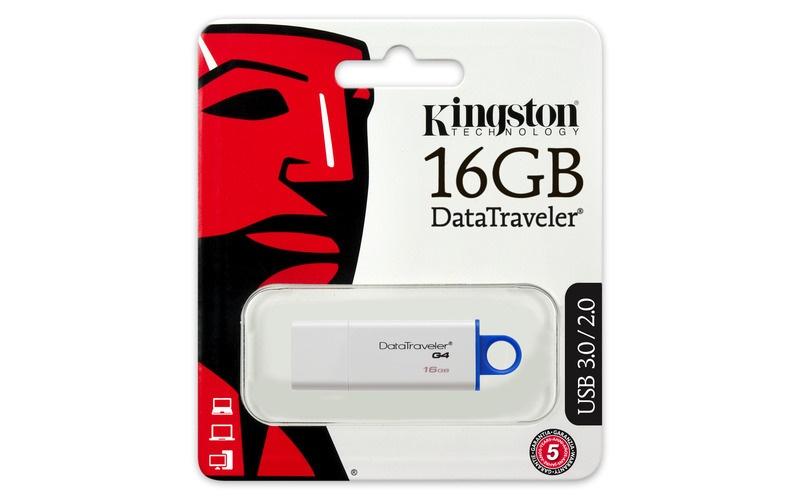 Kingston Technology 8GB DataTraveler G4 USB Memory Stick