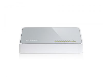 TP-Link 8 port 10/100M mini Desktop Switch Plastic Case TL-SF1008D