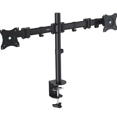 VonHaus Double Arm Monitor Desk Mount