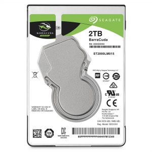"Seagate 2TB 2.5"" Internal SATA 5400RPM Hard Drive"
